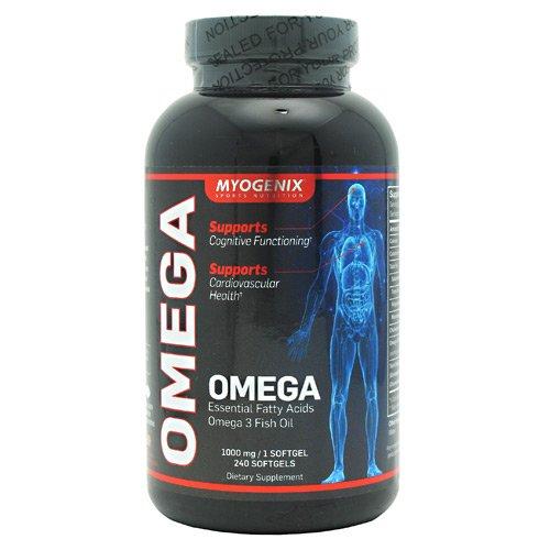 Myogenix Omega Natural Lemon - 120 Softgels