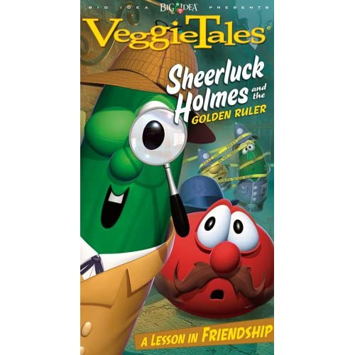 Amazon.com: Veggie Tales Sheerluck Holmes & the Golden Ruler [VHS]