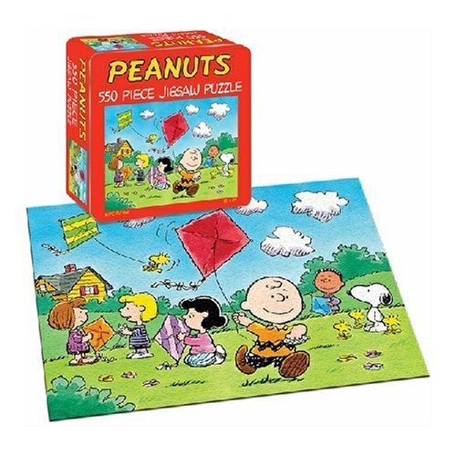 Cheap Fun USAopoly Peanuts Kite Flying 550 Piece Jigsaw Puzzle (B000BXM8AG)
