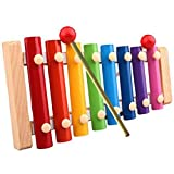 Towallmark(Tm)Baby Kid Musical Toys Xylophone Wisdom Development Wooden Instrument