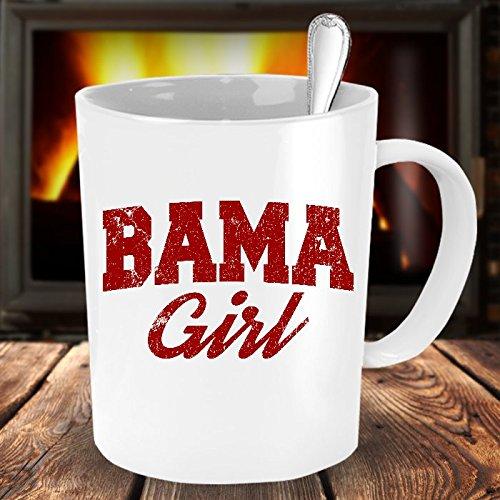 Bama Girl Mug - Mug will bring Alabama Roll Tide fans a smile! Bama Girl gift. (Alabama Chocolate compare prices)