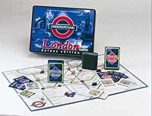 The London Underground Board Game Deluxe Tin