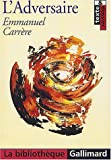 echange, troc Emmanuel Carrère - L'Adversaire