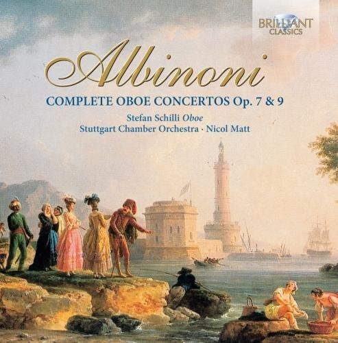 アルビノーニ:オーボエ協奏曲全集(3枚組)/Albinoni: Oboe Concertos