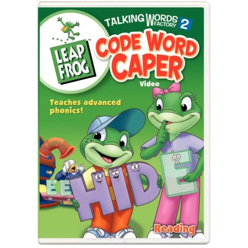 Amazon.com: Leap Frog - Talking Words Factory 2 - Code Word Caper
