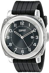 Esprit Cube Water-Resistant Analog Black Dial Mens Watch ES900631002