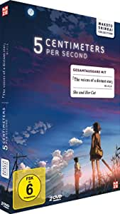 5 Centimeters Per Second / The Voices of a Distant Star / She and Her Cat (Gesamtausgabe) [2 DVDs] [Deluxe Edition] [Deluxe Edition]
