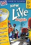 Cahier de vacances New Live : Anglais...