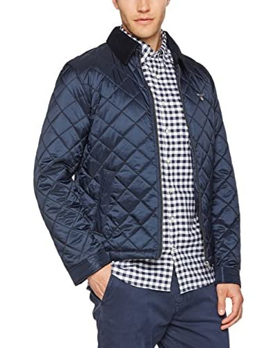 GANT Chaqueta The Quilted Windcheater Azul