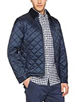 GANT Chaqueta The Quilted Windcheater (Azul)