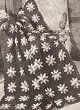 Free Pattern Friday: Flower Garden Afghan Crochet Pattern