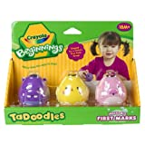 Crayola 3ct. Washable First Marks Pink, Yellow, Purple (Color may vary) ~ Crayola