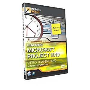 Microsoft Project 2010 Training DVD - Tutorial Video