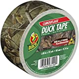 Duck Brand 1409574 Printed Duct Tape, Realtree Camouflage, 1.88 Inches x 10 Yards, Single Roll