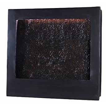 Kenroy Home #19998 Central Square Indoor Wall Fountain in Bronze Finish with Textured Face