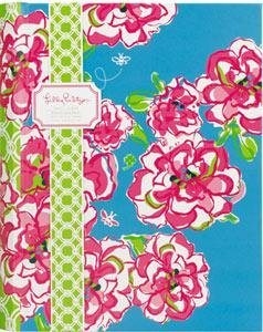 Lilly Pulitzer Photo Album LUCKY CHARMS holds 100 - 4x6 photos - 4x6