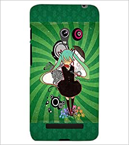 PrintDhaba Cartoon D-4089 Back Case Cover for ASUS ZENFONE 5 A501CG (Multi-Coloured)