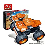 Ban Bao Turbo Power Monster Truck Building Set