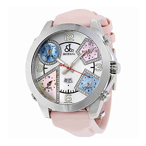 jacob-and-co-five-time-zone-multi-color-mother-of-pearl-diamond-mens-watch-jc-24da