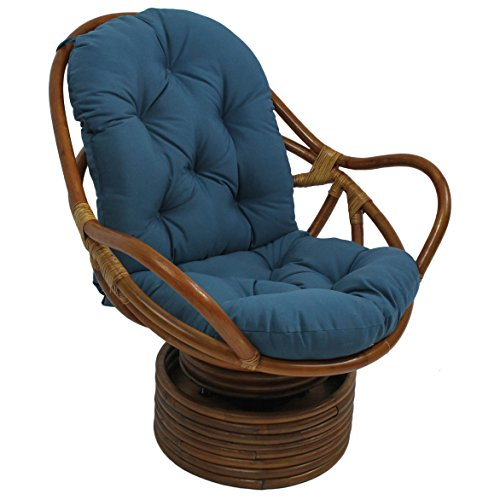 blazing-needles-solid-twill-swivel-rocker-chair-cushion-48-x-24-indigo