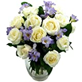 Breathtaking 'Amethyst' Bouquet - Fresh Flower Bouquets with free delivery
