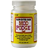 MOD PODGE Plaid Glow in The Dark Glue, 8-Ounce