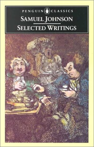 Selected Writings (Penguin Classics), Samuel Johnson