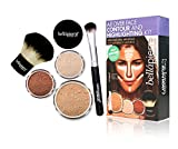 Bella Pierre All Over Face Contour And Highlighting Kit Medium