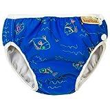 Imse Vimse Swimm Diaper Blue Fish Size L(9-12kg; 20-26 lbs)