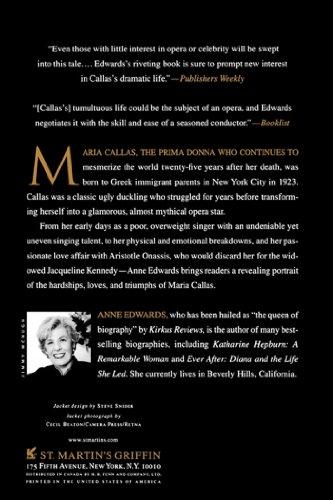 Maria Callas: An Intimate Biography