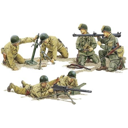 1/35 U.S. Army Support Weapon - Buy 1/35 U.S. Army Support Weapon - Purchase 1/35 U.S. Army Support Weapon (Dragon Models USA, Toys & Games,Categories,Construction Blocks & Models,Construction & Models,Accessories)