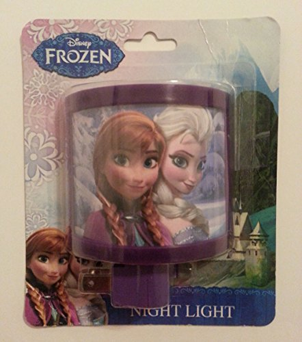 Walt Disney Frozen Merchandise Elsa & Anna Night Light Best Items For Kids - 1