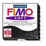 Staedtler Fimo Soft Black (9) Oven Ba...