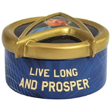 Star Trek Spock Trinket Box by Westland Giftware