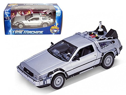 Welly 1/24 Scale Diecast Metal Delorean Time Machine Back to the Future Part II (Model Time Machine compare prices)