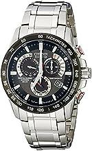 Comprar Citizen AT4008-51E - Reloj analógico de cuarzo para hombre, correa de acero inoxidable color plateado