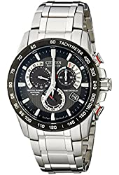 Citizen Men's AT4008-51E Eco-Drive Stainless Steel Watch with Black Dial