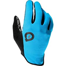 SixSixOne Rev Adult Off-Road Cycling MTB Gloves - Cyan / X-Large