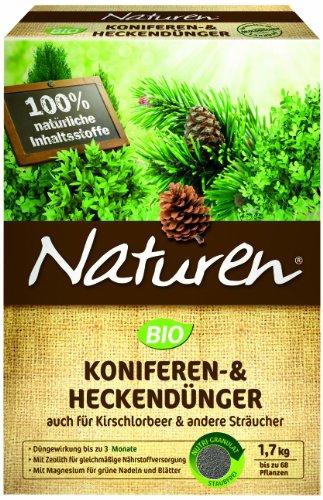 naturen bio koniferen heckend nger 1 7 kg. Black Bedroom Furniture Sets. Home Design Ideas