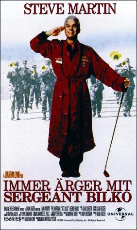 Immer Ärger mit Sergeant Bilko [VHS]