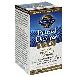 Garden of Life Primal Defense Ultra Ultimate Probiotic Formula, 90 Capsules