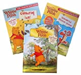 E H Shepherd Winne the Pooh Collection - 3 books - 1 Storybook and 2 Activity Books based on the movie (Winnie the Pooh Something is Missing / Wonderful Sticker Scene / Colouring Fun rrp£16.97)