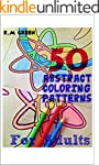 50 Abstract Coloring Patterns for Adults