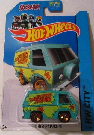 SCOOBY-DOO! THE MYSTERY MACHINE Hot Wheels 2014 New Models Series #84/250 Scooby Doo Mystery Machine 1:64 Scale Collectible Die Cast Car