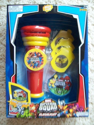 Marvel Superhero Squad Flashlight