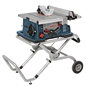 Bosch 4100DG-09 10-Inch Worksite Table Saw with Gravity-Rise Stand and Digital Rip Fence