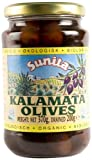 Sunita Organic Kalamata Olives 360 g (Pack of 6)
