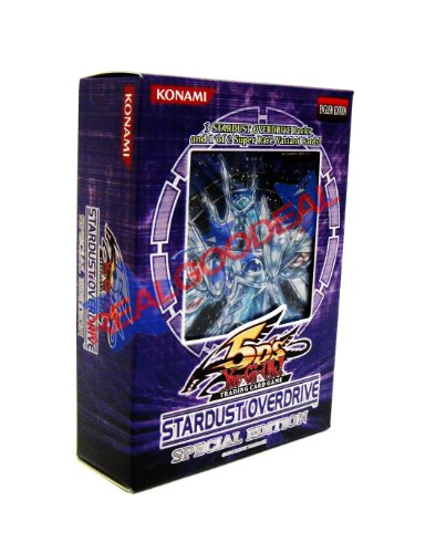 Yu-Gi-Oh! 5D's TCG: Stardust Overdrive Special Edition (3 Packs PLUS Special Promo Variant Card) - 1