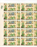 Desert Cactus Plants Sheet of 40 x 20 Cent Stamps Scott 1942-45 by USPS