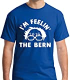 Raw T-shirt's Bernie Sanders 2016 - Presidential Premium Men's T-shirt (Xx-large, Royal Blue)